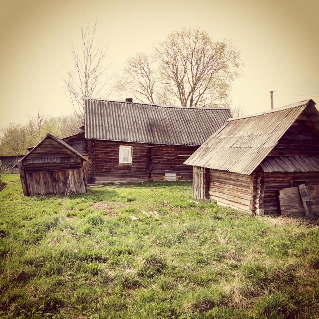 это кстати дом, который построил мой дед 70 лет назад