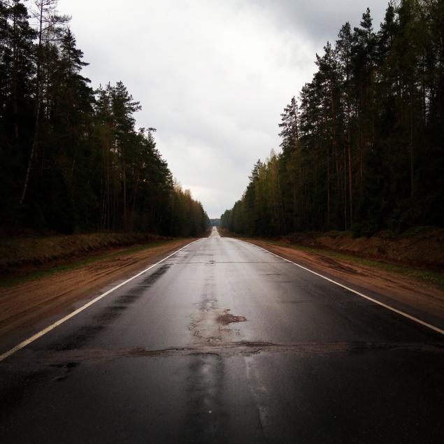 дорога после г. Торопец